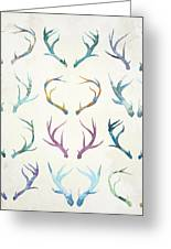 Autumn Antlers Greeting Card