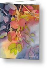 Autumn Apples Full Painting Greeting Card