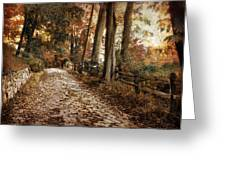 Autumn Ascending  Greeting Card