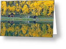 Autumn Aspens Along Route 550, North Greeting Card
