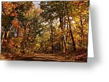 Autumn At Audubon Greeting Card