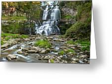 Autumn At Chittenango Falls Greeting Card
