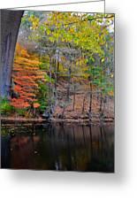 Autumn At Echo Bridge Greeting Card