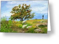 Autumn At Gettysburg Greeting Card