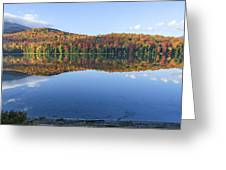 Autumn At Heart Lake Greeting Card