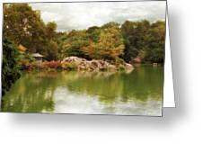 Autumn At Hernshead Greeting Card