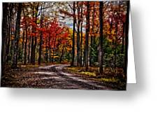 Autumn At Hickory Run Greeting Card