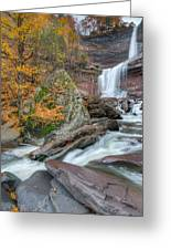Autumn At Kaaterskill Falls Greeting Card