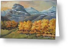 Autumn At Kananaskis Greeting Card