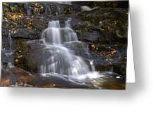 Autumn At Laurel Falls Greeting Card