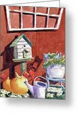 Autumn At Little Mader Greeting Card
