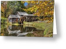 Autumn At Mabry Mill Greeting Card