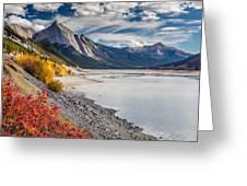 Autumn At Medicine Lake Greeting Card