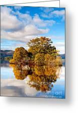 Autumn At Milarrochy Bay Greeting Card