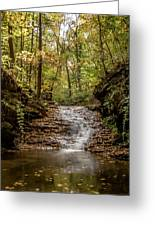 Autumn At Mill Creek Greeting Card