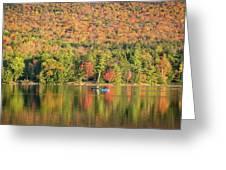 Autumn At North Lake Greeting Card