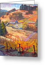 Autumn At Silvan Ridge Greeting Card