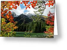 Autumn At String Lake Greeting Card