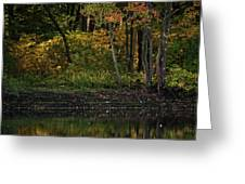 Autumn At Wrights Pond Greeting Card