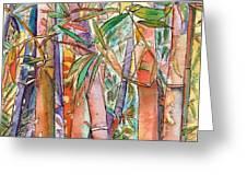 Autumn Bamboo Greeting Card