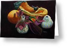 Autumn Beauties Greeting Card