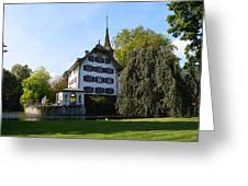 Castle In September Greeting Card