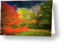 Autumn H3 Greeting Card
