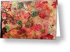 Autumn Breeze On The Edge Of Time Greeting Card