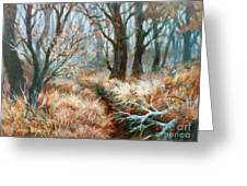 Autumn Brush Greeting Card