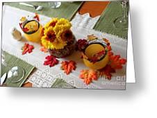 Autumn Centerpiece Greeting Card