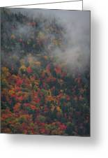 Autumn Colors In The Clouds Greeting Card