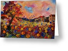 Autumn Colors  Greeting Card by Pol Ledent