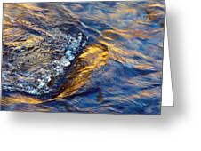 Autumn Colors River Rapids Greeting Card