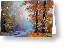 Autumn Colours Greeting Card by Graham Gercken