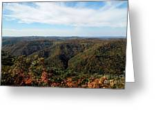 Autumn Comes To The Mountains 3 Greeting Card