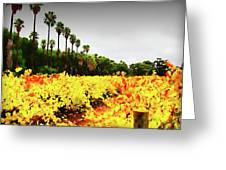 Autumn Contrasts Greeting Card