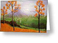 Autumn Countryside Greeting Card