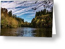 Autumn Cove Greeting Card