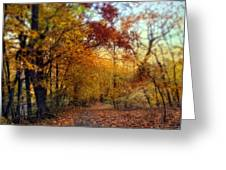 Autumn Crescendo Greeting Card