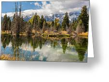 Autumn Day At Schwabacher's Landing Greeting Card