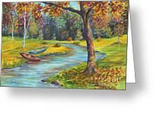 Autumn Daze Splendor  Greeting Card