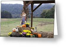 Autumn Display Greeting Card