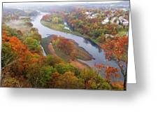 Autumn Down Below Greeting Card
