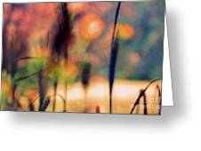 Autumn Dreams Abstract Greeting Card
