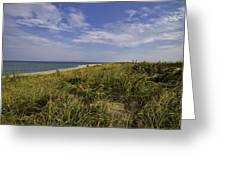 Autumn Dune View Greeting Card