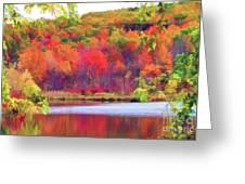 Autumn East Coast I Greeting Card