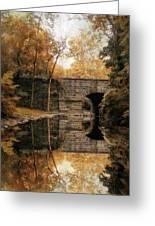 Autumn Echo Greeting Card