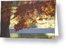 Autumn Elegance Greeting Card