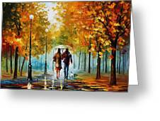 Autumn Elegy Greeting Card
