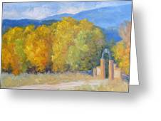 Autumn Entry Greeting Card